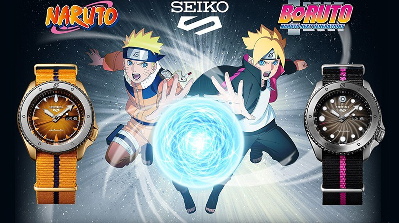 Seiko - 5 Sports Naruto & Boruto Limited Edition