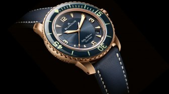 "A ""Californian"" Blancpain Fifty Fathoms Trends and style"