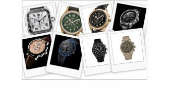 New chronographs Trends and style