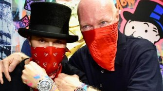Alec Monopoly joins TAG Heuer family