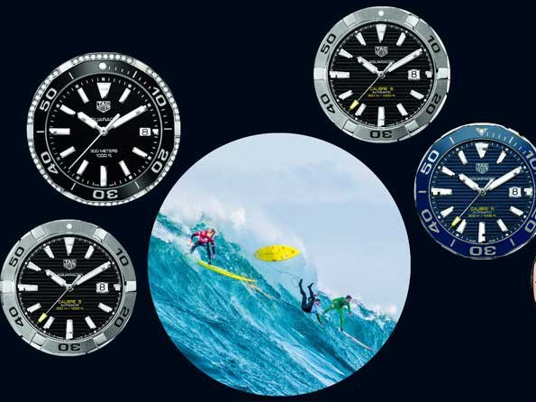 TAG Heuer - Aquaracer adopts a high profile