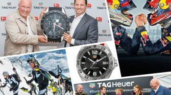 When watchmaking and sport become inseparable!
