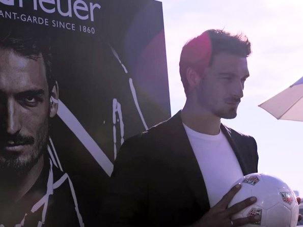 TAG Heuer - Video. Mats Hummels in Munich