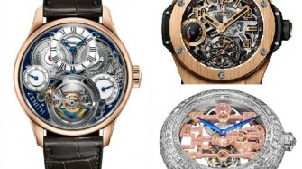 Three hot tourbillons unveiled at Baselworld 2015 Trends and style