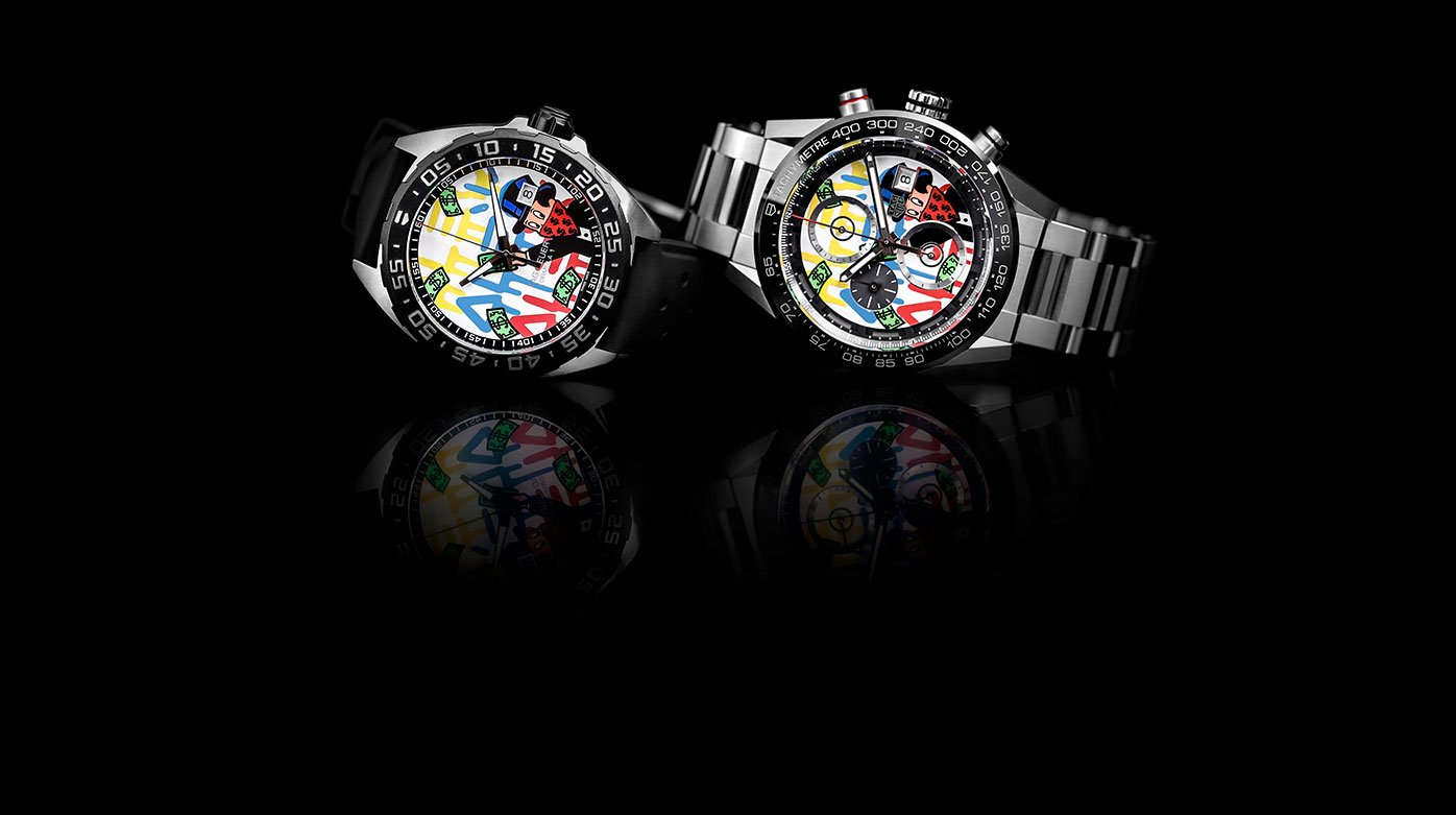 TAG Heuer - Two new watches designed by Alec Monopoly