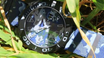 Aquaracer Blue Camouflage Trends and style