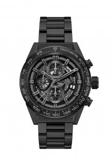 Carrera HEUER-01 Full Black Matt Ceramic