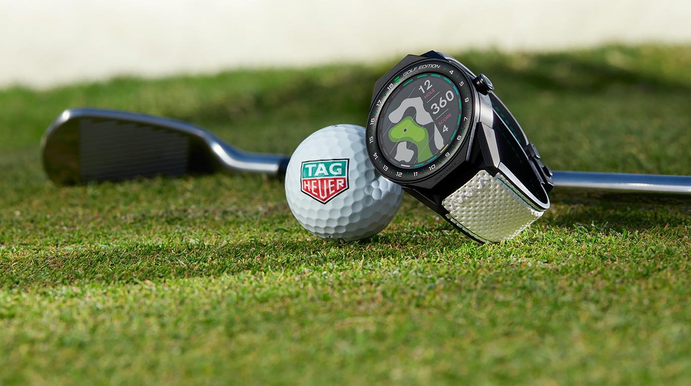 TAG Heuer - Connected Modular 45 Golf Edition