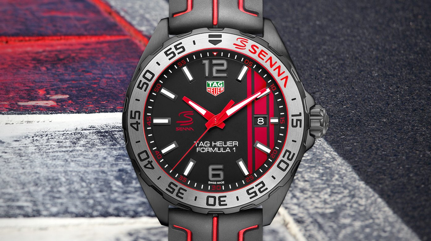 tag heuer ayrton senna special editions trends and. Black Bedroom Furniture Sets. Home Design Ideas