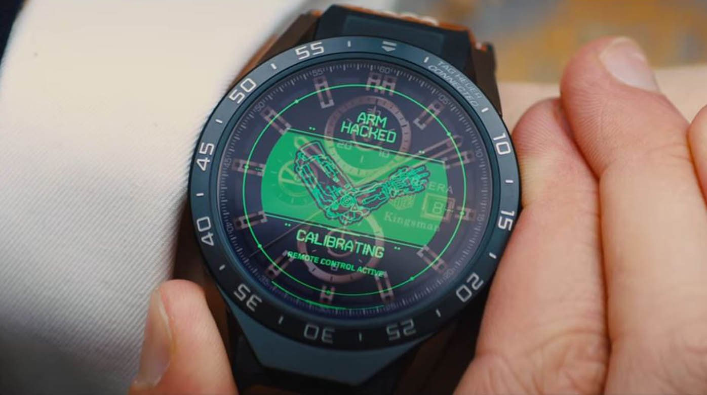 TAG Heuer - Kingsman and the connected watch