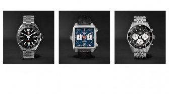 TAG Heuer now available on Mr Porter Business