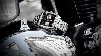 The brand unveils new Monaco timepieces