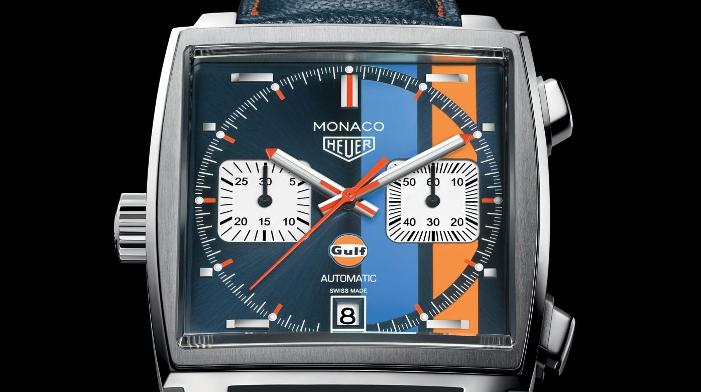 2c34eb074af TAG Heuer - Monaco Gulf special edition - Trends and style - WorldTempus