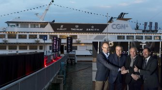 Grand Opening of the LVMH Boat Exhibitions