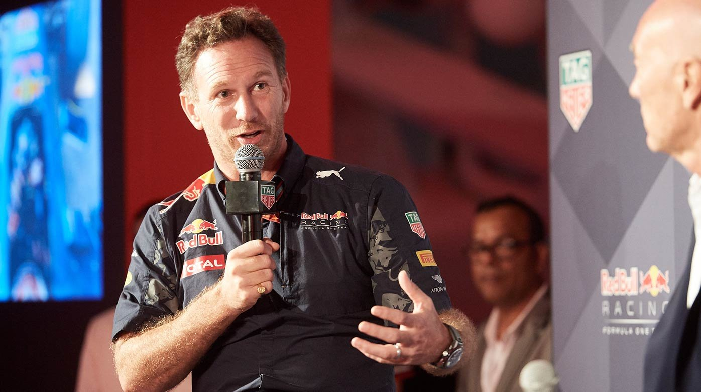 TAG Heuer - Interview with Christian Horner