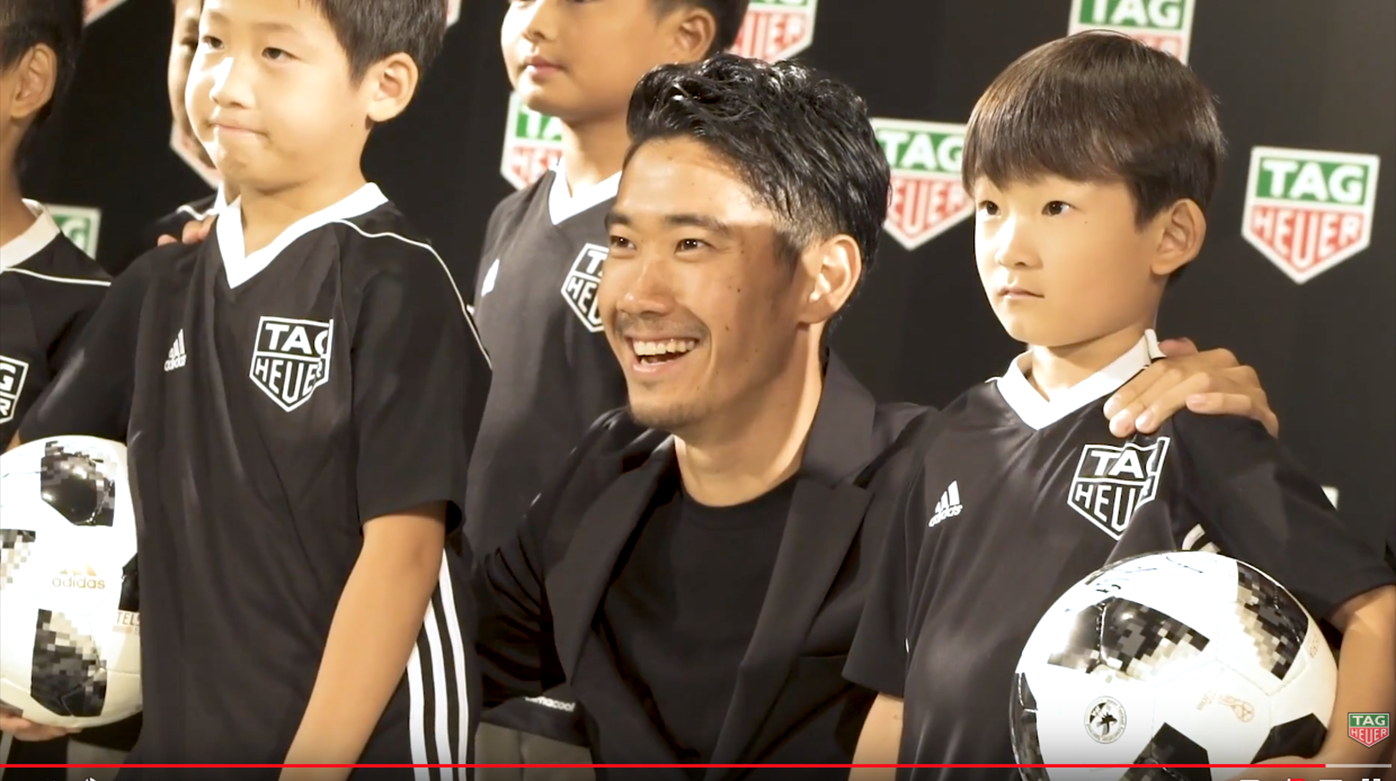 TAG Heuer - Shinji Kagawa takes on the #Don'tCrackUnderPressure Challenge