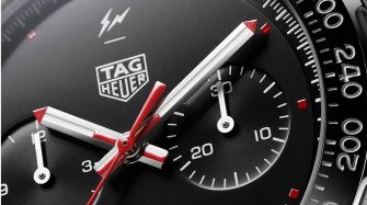 The TAG Heuer x Fragment Design Heuer 02 chronograph