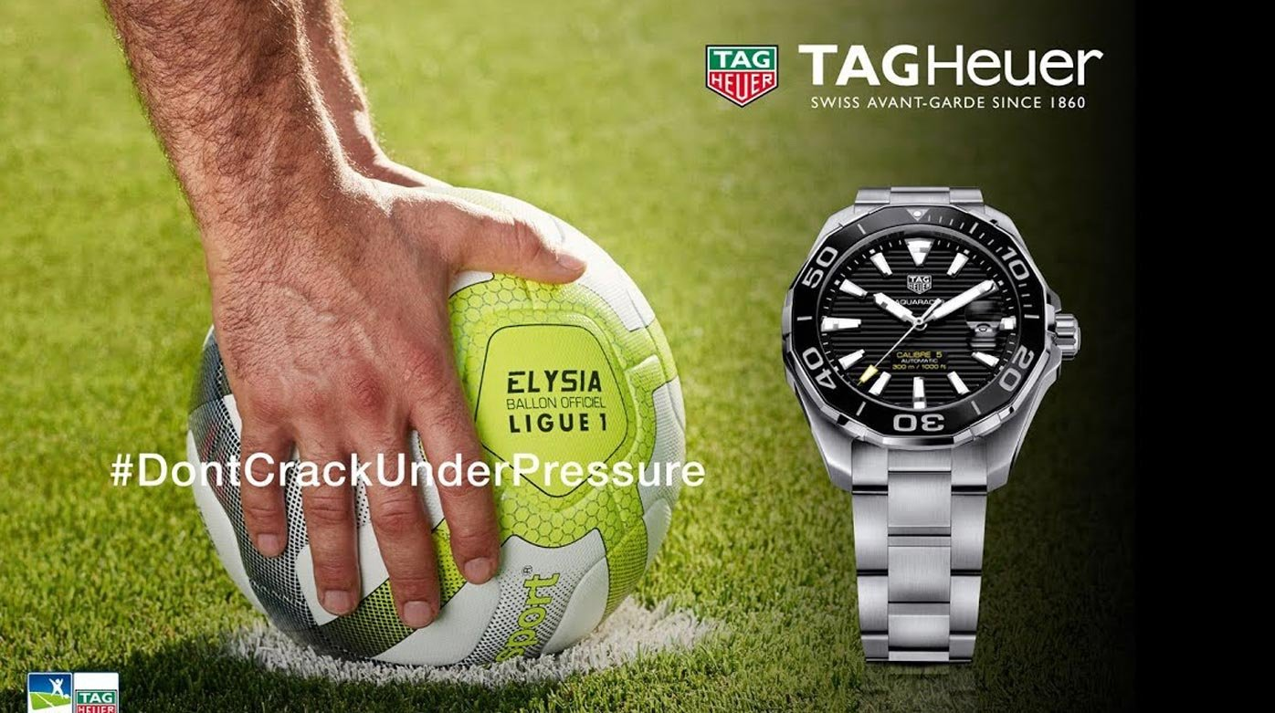 TAG Heuer - Official timekeeper of the Ligue de Football Professionnel