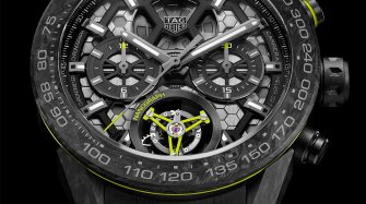 TAG Heuer invents the carbon balance spring