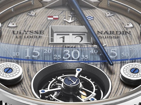 Ulysse Nardin - Grand Deck Marine Tourbillon