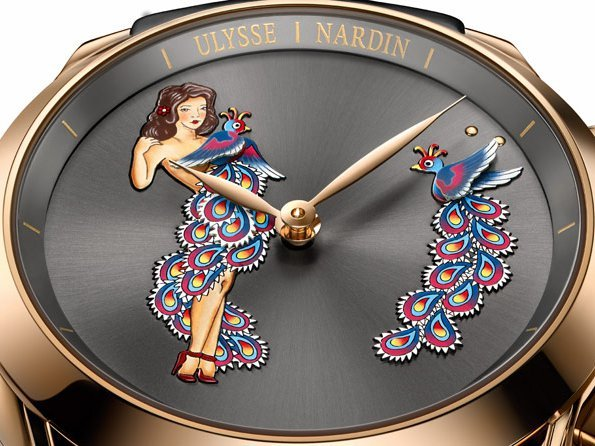 Ulysse Nardin - Hourstriker Pin-Up