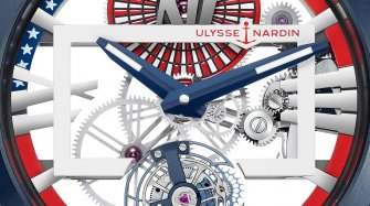 "Executive Skeleton Tourbillon ""Stars & Stripes"" Trends and style"