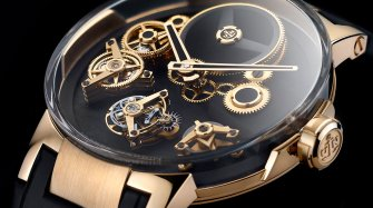 Executive Tourbillon Free Wheel Style & Tendance