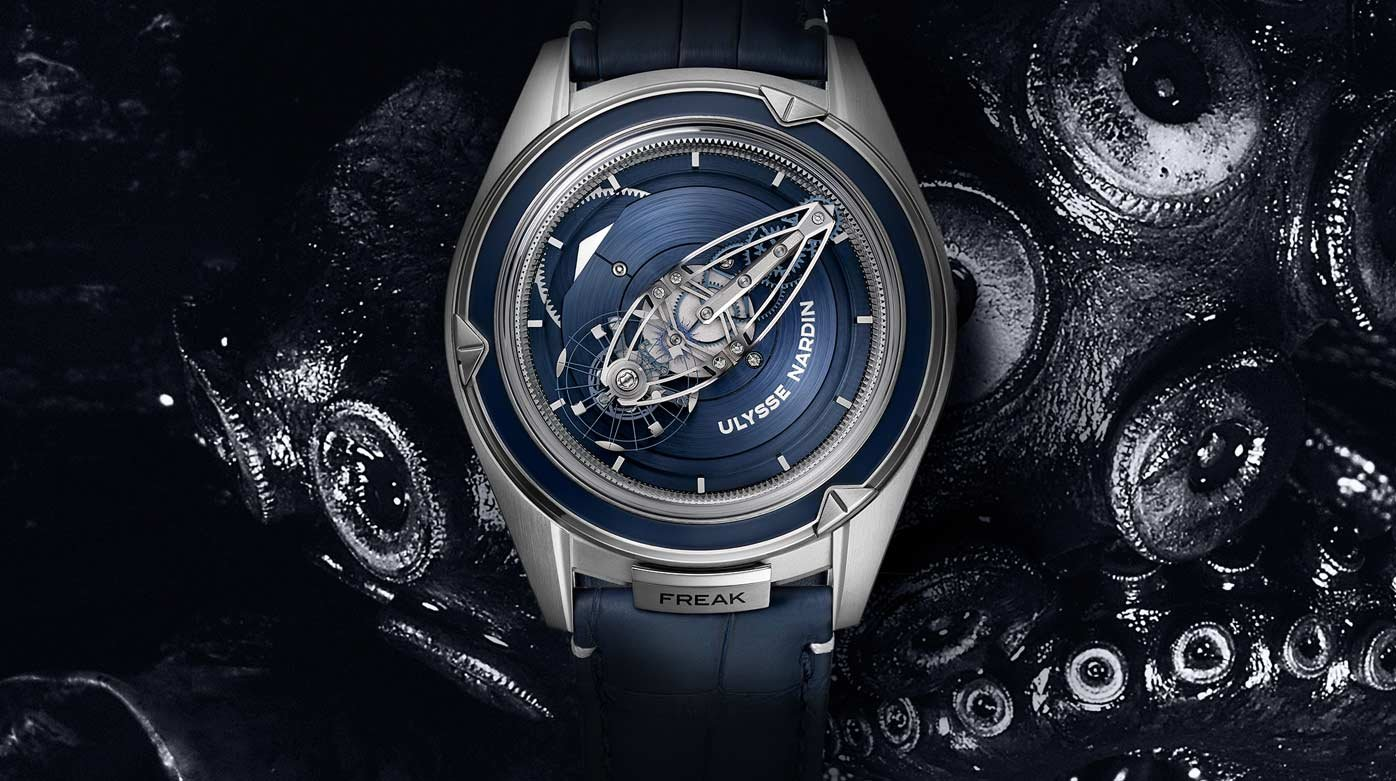 Ulysse Nardin - The Freak - Ulysse Nardin's latest incarnation nominated at the GPHG