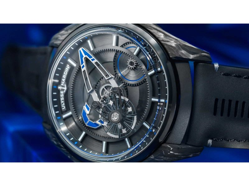 Ulysse Nardin x Bucherer - FREAK X Bucherer BLUE - Style Tendance - WorldTempus
