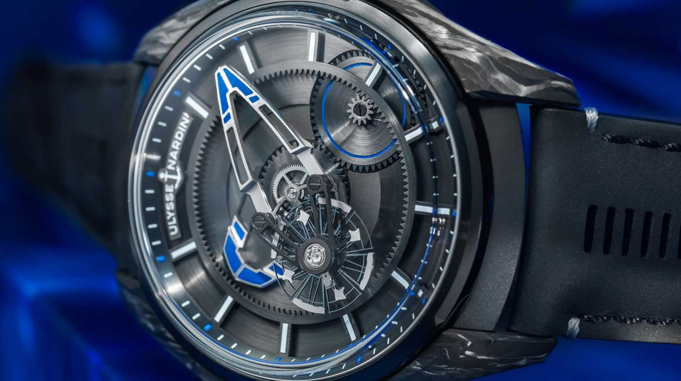 Ulysse Nardin x Bucherer - FREAK X Bucherer BLUE