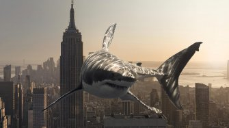 #FREAKMEOUT : a shark in the city