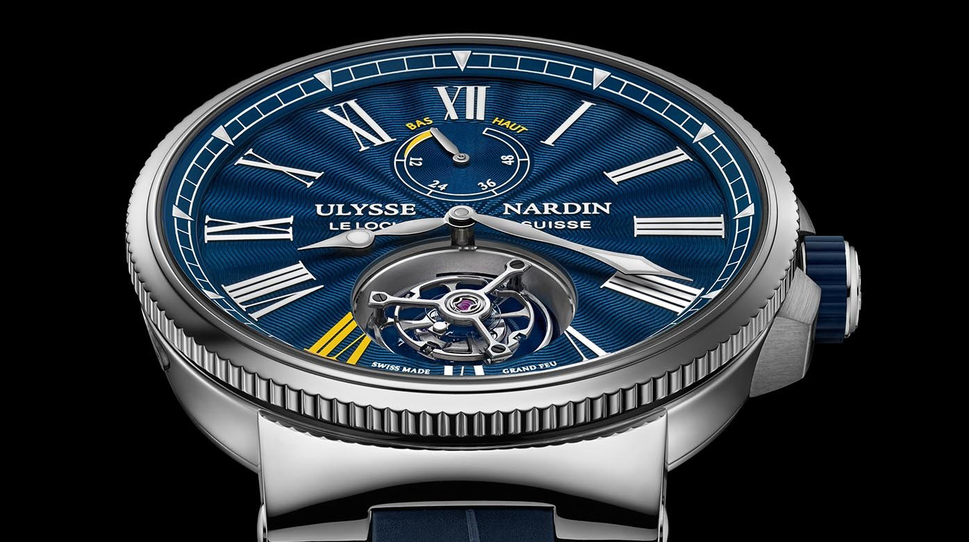 Ulysse Nardin - Marine Tourbillon Only Watch
