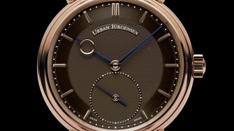 Reference 1140L RG Brown Dial
