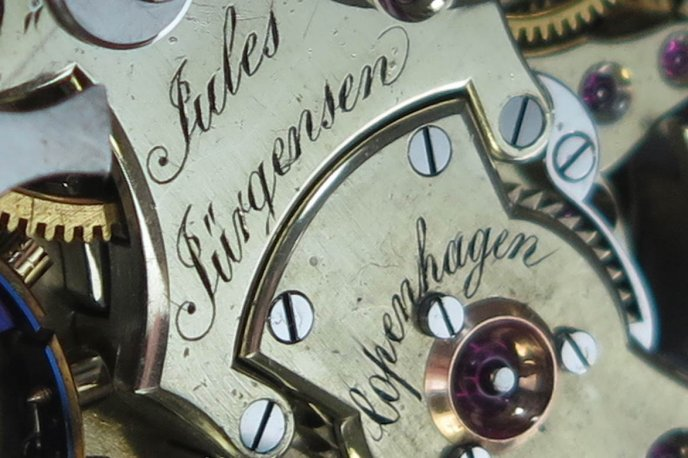 Maintaining the family tradition : the life and watches of Jules Frederik Jürgensen