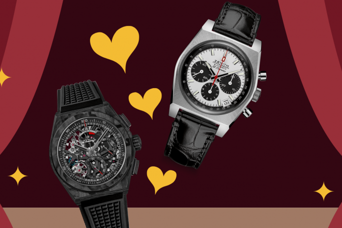 Valentine's Day re-imagined, through watches