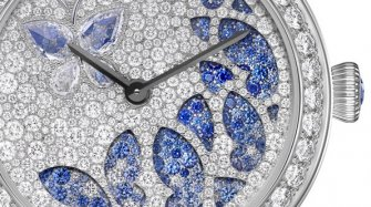 Video. Lady Jour des Fleurs and  Lady Nuit des Papillons watches