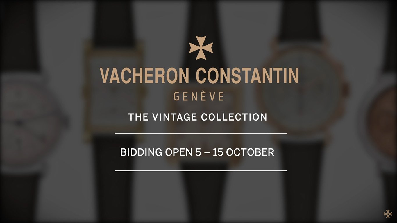Vacheron Constantin - The Vintage Collection