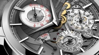 One watch, two escapements and an exponential power reserve