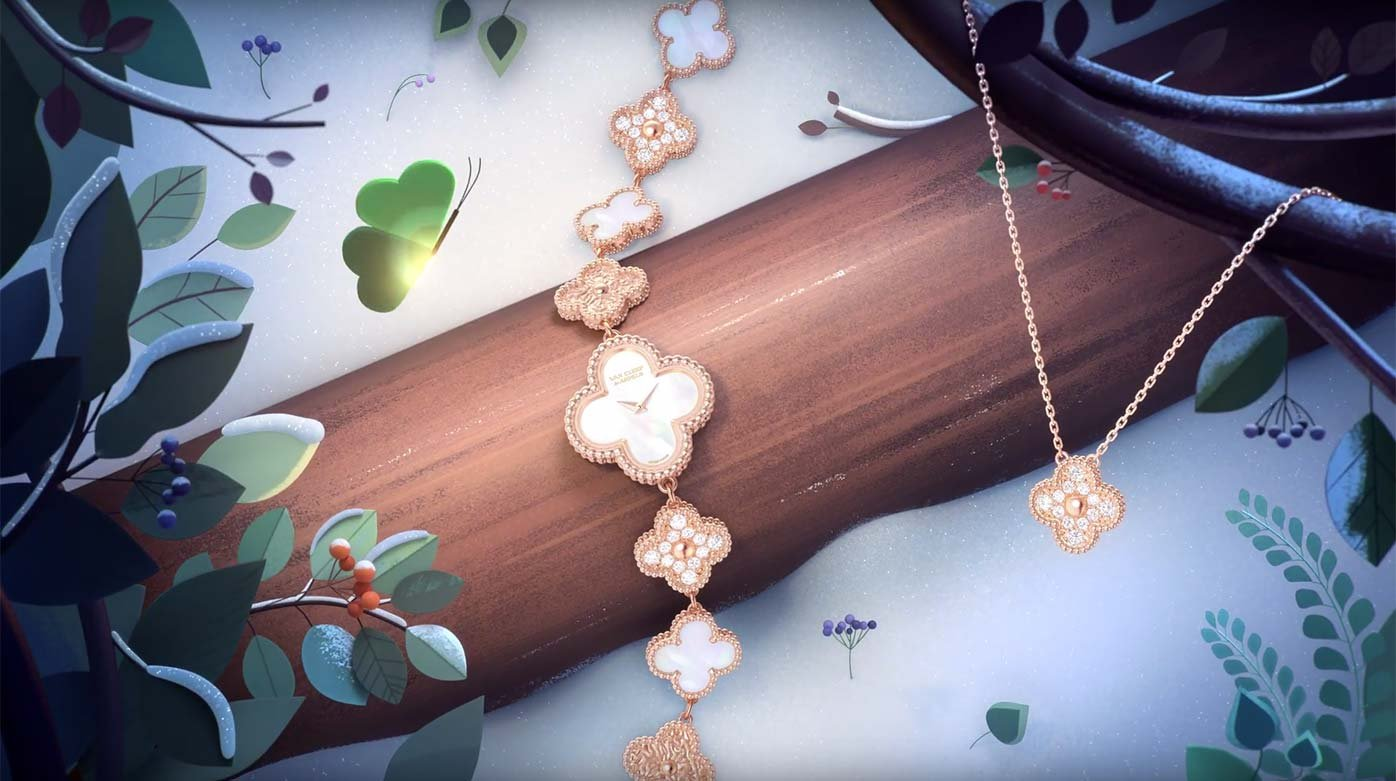 Van Cleef & Arpels - 50 years of luck