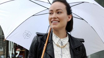 Olivia Wilde surprise à New York... Industrie News