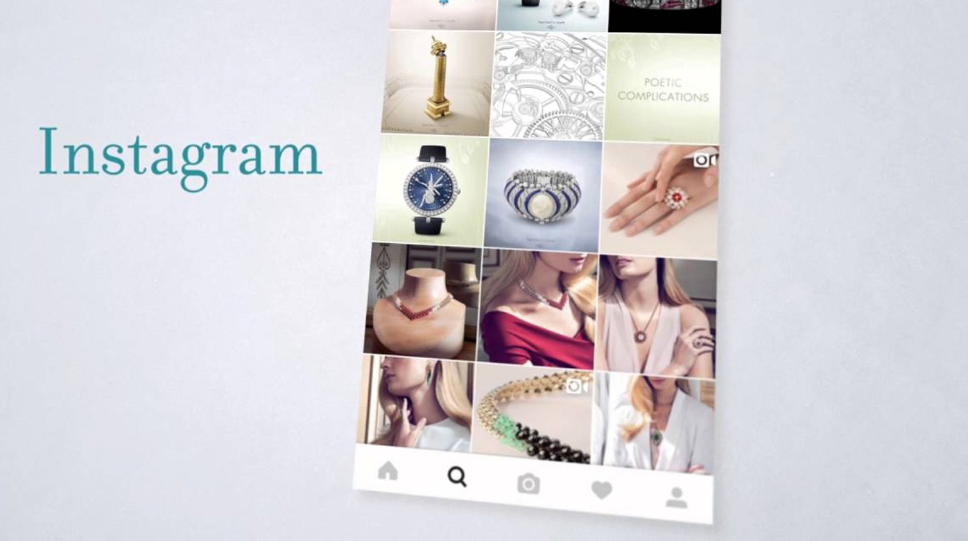 Van Cleef & Arpels - An extensive digital presence