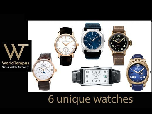 15 years of great content - Exclusive WorldTempus anniversary edition unique piece watches