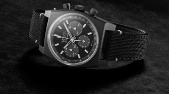 Chronomaster Revival 'Shadow' Trends and style