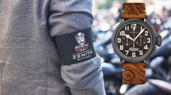 Le cancer et la Zenith Type 20 Ton Up Distinguished Gentleman's Ride Style & Tendance