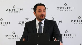 Interview with Julien Tornare, CEO of Zenith Watches