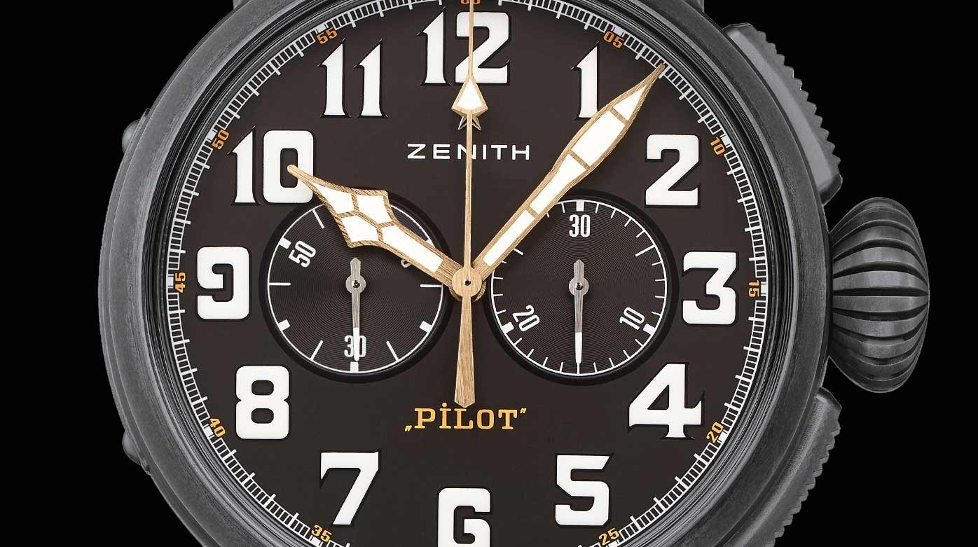 Zenith - Pilot Type 20 Chronograph Ton Up Black