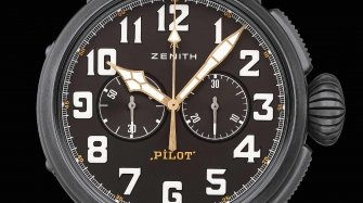 Pilot Type 20 Chronograph Ton Up Black Style & Tendance