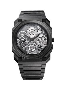 Octo Finissimo Carbone Tourbillon Volant Automatique