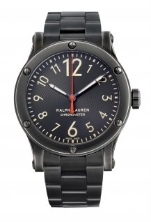 Ralph Lauren Safari - Black Dial - Aged Steel - 45mm