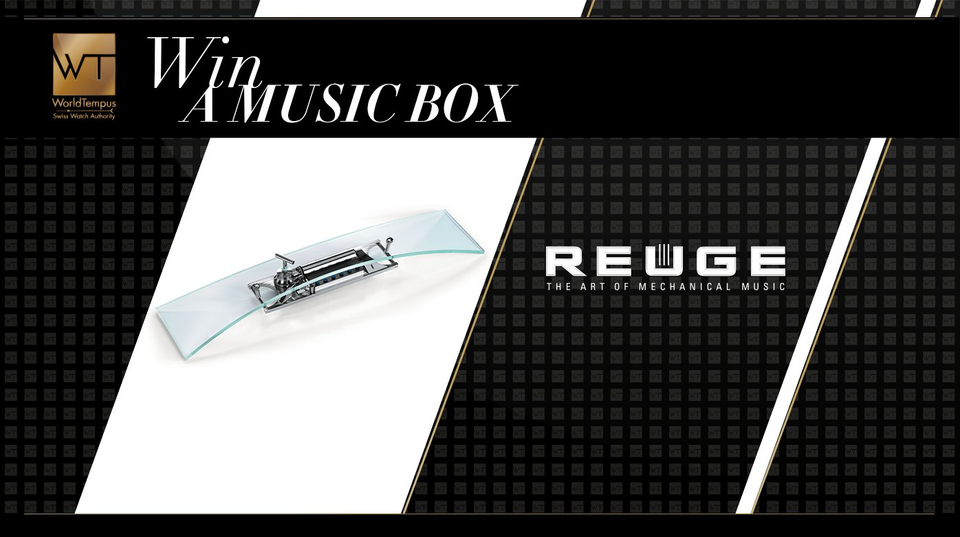 Reuge - Win an Arche music box by Reuge